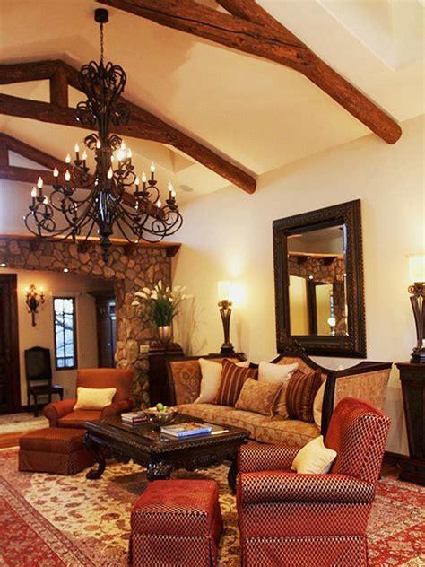 spanish style decorating living room modern house