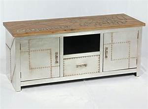 Retro Tv Board : vintage lowboard industrie design sideboard retro tv board alu kommode 504 retro stuhl ~ Indierocktalk.com Haus und Dekorationen