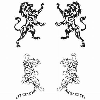 Tattoo Tiger Henna Tribal Designs Tattoos Lion