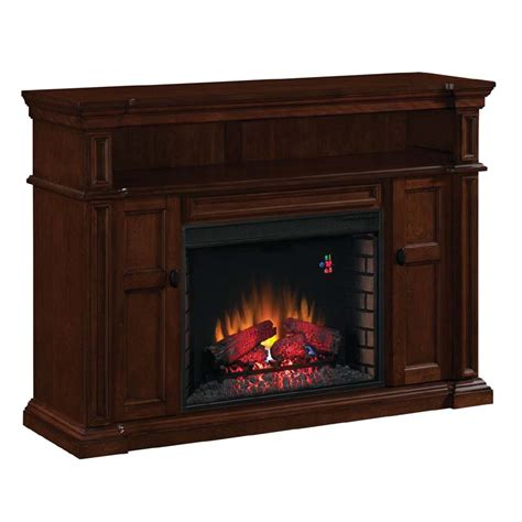 classic flame wyatt   tv stand  electric