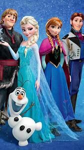 Frozen iPhone 6 plus wallpaper -2014 Christmas Disney Anna ...