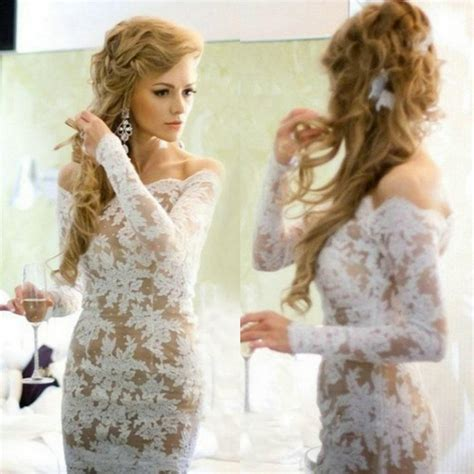 2015 vintage lace sexy backles cocktail dresses with long