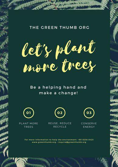 customize  environmental protection poster templates