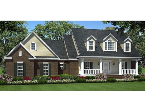 Country Style House Plans With Dormers — House Style And