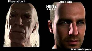 Playstation 4 vs Xbox One Face Tech Graphics (PS4 vs Xbox ...