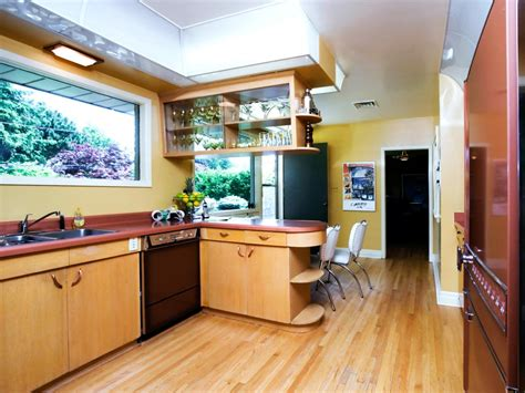 retro kitchen cabinets pictures ideas tips  hgtv