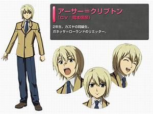 Arthur Crypton   Freezing   Anime Characters Database