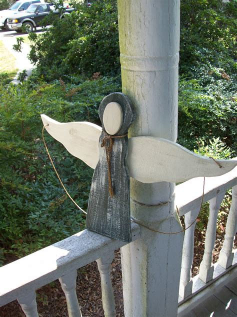 Reserved Rustic Garden Angel Christmas Decoration