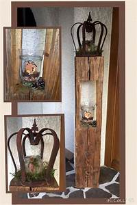 Deko Holz Shop : kuormalavasta tuunaten altholz holz deko herbst natur holzlaterne aus alten balken dekoration ~ Watch28wear.com Haus und Dekorationen
