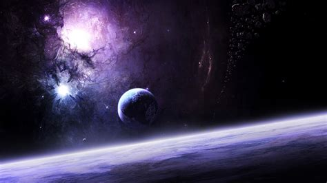 space, Planet, Moon, Galaxy, Colorful, 3D, Asteroid ...