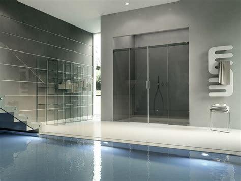porte in cristallo per doccia box doccia in cristallo con porte scorrevoli acqua 5000 by