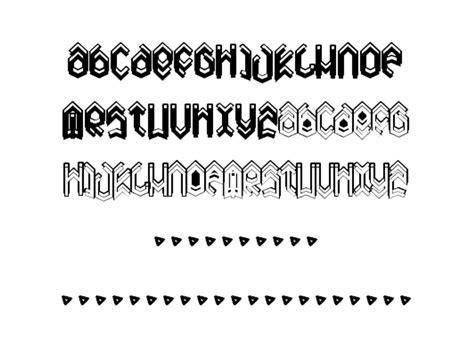 heavy metal fonts ttf otf  design