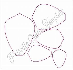 Giant paper flowers giant paper flower templates for Giant paper flower template pdf