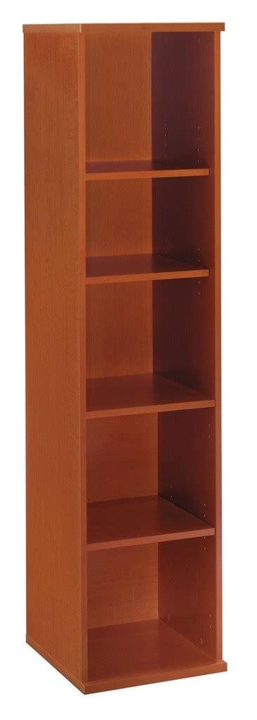 18 Inch Bookcase by Series C Auburn Maple 18 Inch 5 Shelf Bookcase From Bush