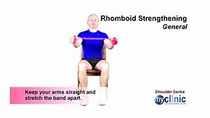 Shoulder Series - Rhomboid Strengthening