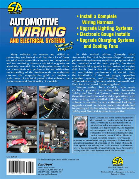 automotive wiring and electrical systems volume 2