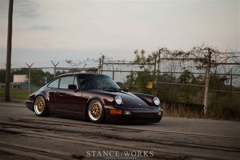 stanced porsche 964 stance works andrew farkas 39 s porsche 964 on bbs e26 wheels