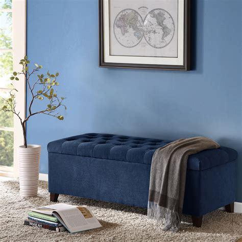 madison park fpf18 0143 shandra bench storage ottoman shandra tufted top storage bench madison park olliix