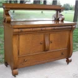 antique island for kitchen antique tiger oak empire sideboard buffet server