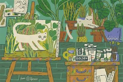 Painting Paint Acrylic Illustration Brands Studio Beginners
