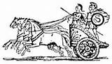 Roman Clip Chariot Coloring Ancient Chariots Map Vietnam Friday Children History sketch template