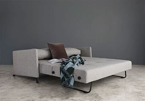 innovation living cubed sofa sleeper  arms eurohaus