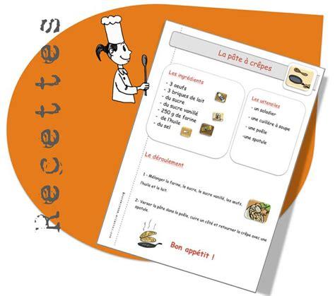 exemple de recette de cuisine les 27 meilleures images à propos de homeschool recettes
