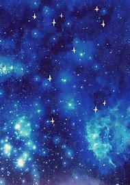 Aesthetic Blue Galaxy Tumblr