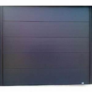 Porte De Garage Sectionnelle Sur Mesure : porte de garage sectionnelle grise ~ Dailycaller-alerts.com Idées de Décoration