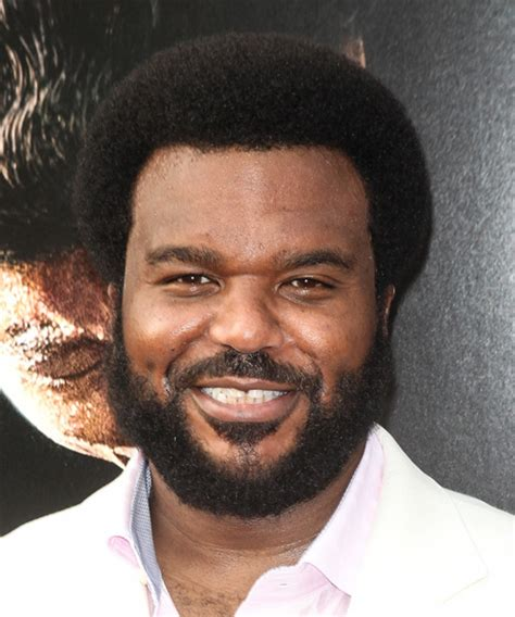 craig robinson short curly black afro hairstyle