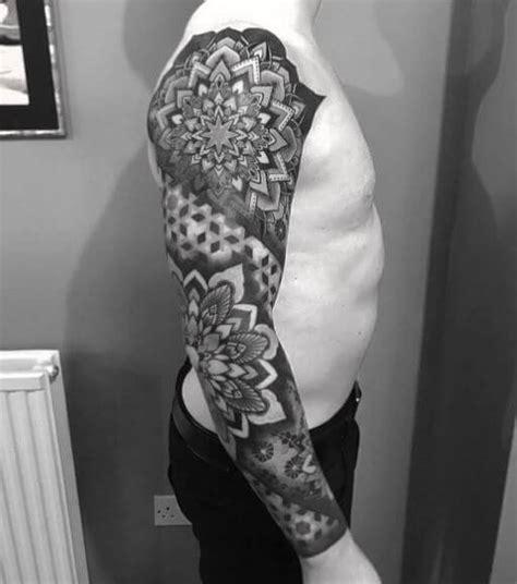 lotus mandala tattoos designs  men