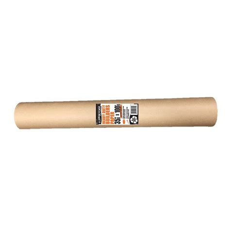 home depot builders paper trimaco 2 9 ft x 140 ft builder s paper 35140 the home depot