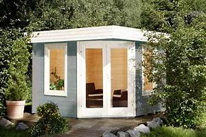 Wpc Gartenhaus Flachdach : gartenhaus flachdach wolff 280x280cm f nf eck holz haus ~ Whattoseeinmadrid.com Haus und Dekorationen