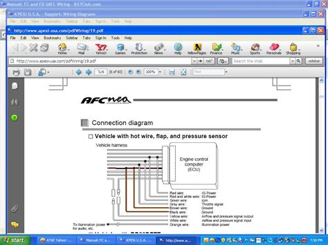 Safc 2 Wiring Diagram by Safc2 Apexi Wiring Diagram Rx7