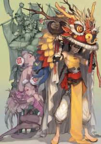 Chinese Anime Character Design