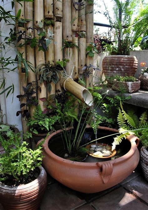 bamboo mini pond gardens
