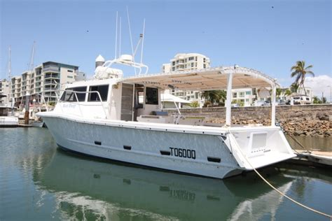 Townsville Fishing Charter Boats by Yanmar 8lv Repower Leaves Owner With No Regrets Power