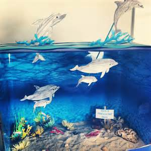 Dolphin Diorama School Project
