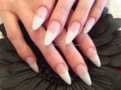 60 Glitter Nail Art Designs Art And Design White Tip Stiletto Nails Www Pixshark Com Images Galleries With A Bite