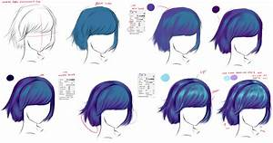 How to draw - hair by ryky on DeviantArt