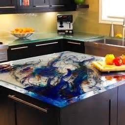 kitchen countertops and backsplash 25 best glass countertops ideas on 4316