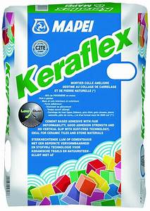 mortier colle pour carrelage c2 eg keraflex mapei With colle pour carrelage piscine