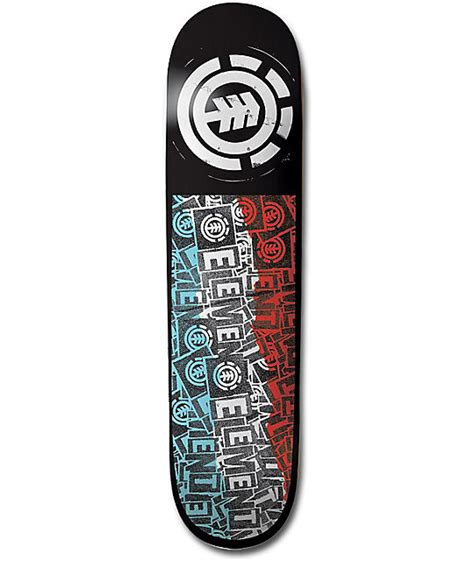 75 skateboard decks element pasted 7 75 quot skateboard deck zumiez
