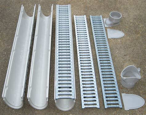 josam trench floor drains mea josam cps100 20 20 complete trench drain kit 4