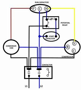Air Conditioner Condenser Fan Motor Wiring