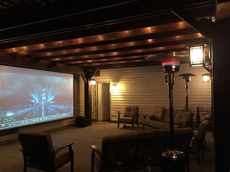 diy pergola pergola post lighting optoma projector
