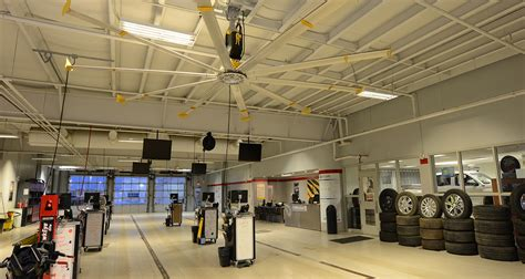 Capital Buick Gmc by Large Overhead Fans In Automotive Service Shops Big Fans