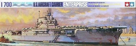 tamiya   scale model kit  aircraft carrier uss