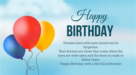 motivational birthday wishes messages images inspiring