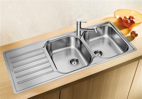 blanco stainless steel inset sinks   germany
